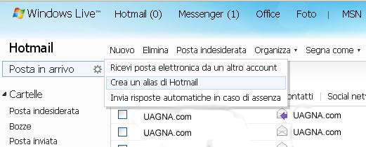 posta elettronica hotmail