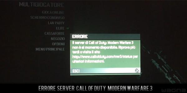 Errore call of duty server mw3- path 600x300