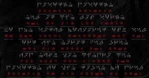 Testo Main Theme The Sons of Skyrim