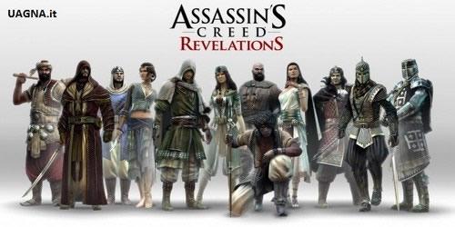 Assassins Creed Revelations personaggi