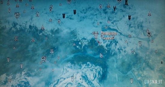 Locazione Puntaguzza Skyrim Krosis