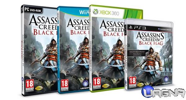 Assassin's Creed IV: Black Flag - Copertina