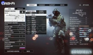 Lista Armi Battlefield 4
