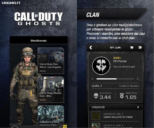 "Call of Duty Ghosts - L'app per la gestione del Clan ""2"""