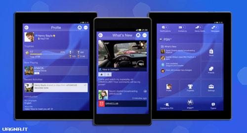 Sony aggiorna l'app PlayStation in vista di PS4