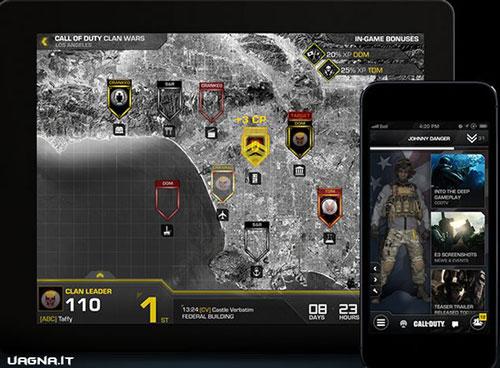 Call of Duty Ghosts - L'app per la gestione del Clan