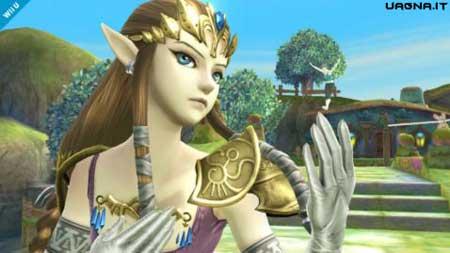 Zelda aggiunta alla lista di Super Smash Bros