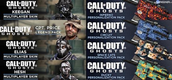 Call of Duty Ghosts - I nuovi pacchetti personalizzazione