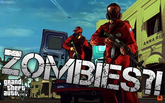 Un'epidemia Zombie su GTA V?