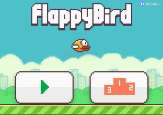 Flappy Bird Menù