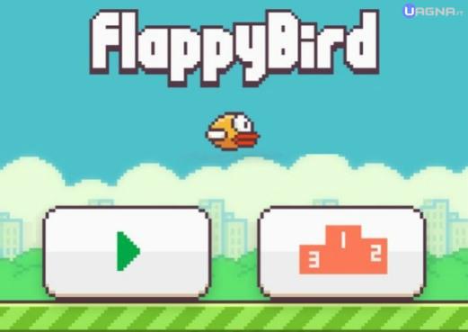 Flappy Bird Menù