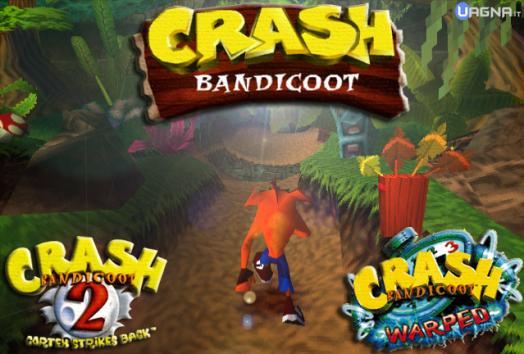Crash Bandicoot 1 2 3