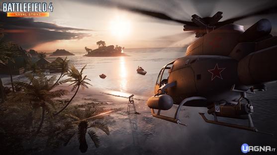Battlefield 4 Naval Strike Mappa