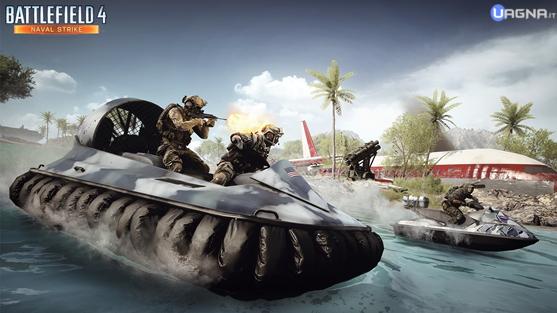Battlefield 4 Naval Strike Hovercraft