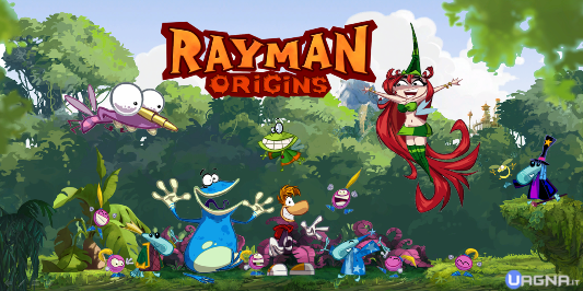 rayman origins Artwork