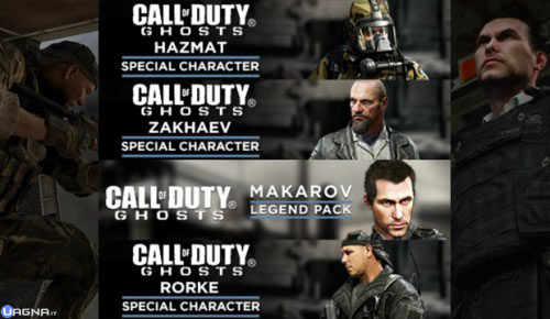 """Nuove skin e mimetiche per Call of Duty: Ghosts e Black Ops 2 """"2"""""""