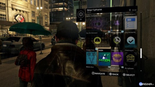 Watch dogs cellulare smartphone