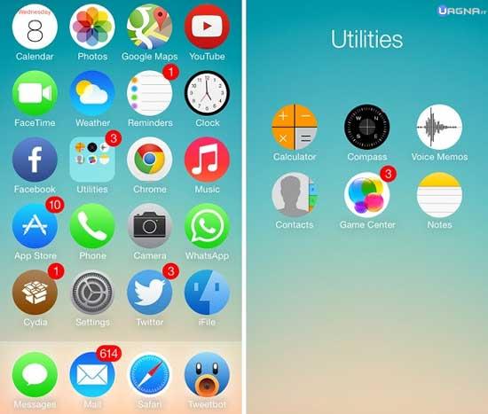 Circulus - Tema Winterboard iOS 7