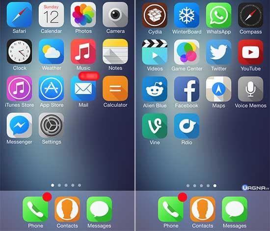 Solstice - Tema per Winterboard iOS 7