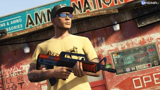 gta high life online bullpup rifle