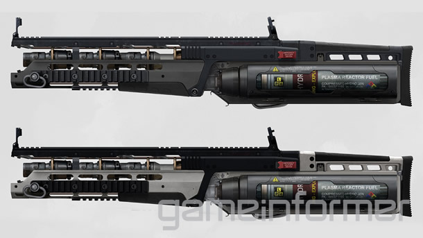 Plasma Rifle Advanced Warfare