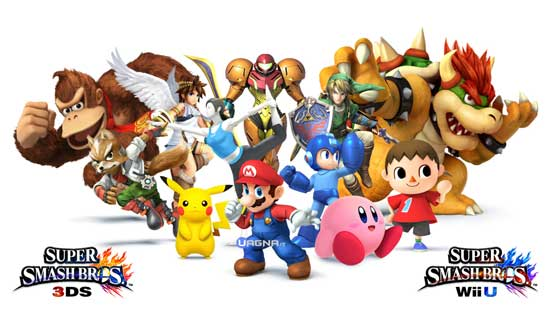 Super Smash Bros Wii U e 3DS