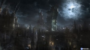 Bloodborne-city
