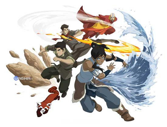 The Legend Of Korra - Personaggi