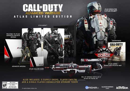 Call Of Duty Advanced Warfare Limited Edition