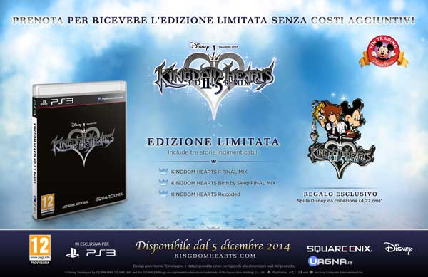 Kingdom Hearts HD 2.5 ReMIX - Limited Edition