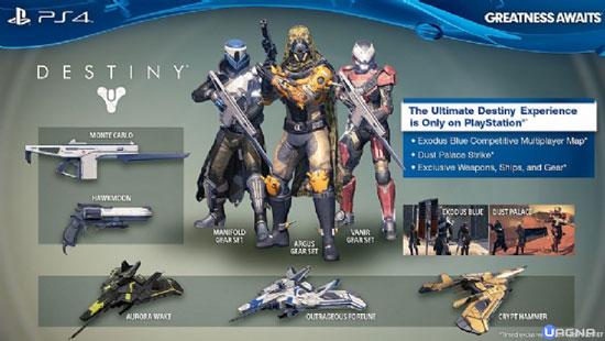 Contenuti Esclusivi Destiny PlayStation