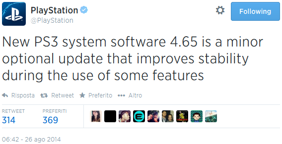 PlayStation 3 Firmware 4.65