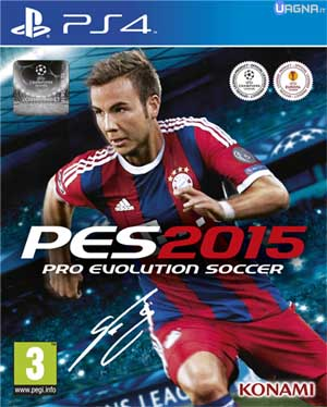 pes 15 cover ps4
