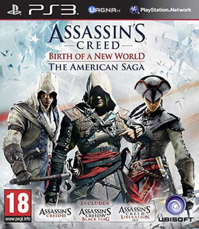 Assassin's Creed: The Americas Collection Saga PS3