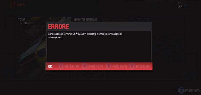Drive-server interrotti