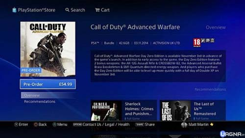 ps4 cod digital