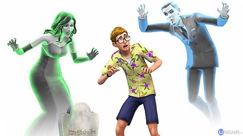 the sims 4 fantasmi