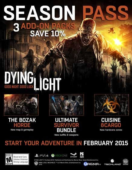 Dying Light - Preorder Bonus