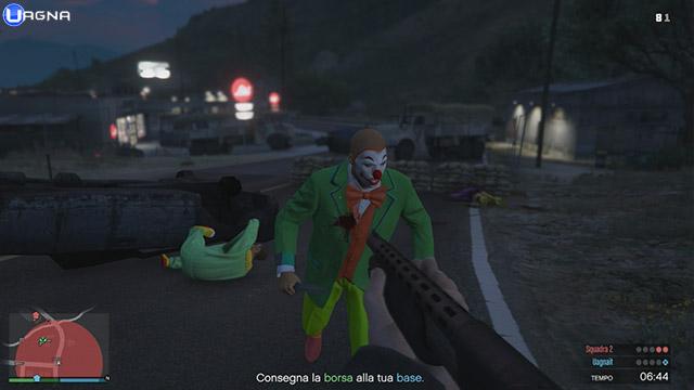 zombi gta 5 clown
