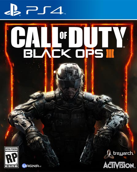 Black Ops 3 PS4 Box Art