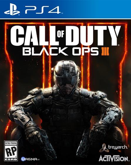 Black Ops 3 PS4 Box Art