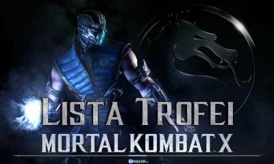 Mortal Kombat X Lista Trofei