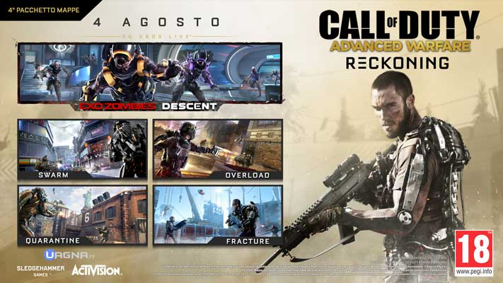 Call Of Duty Advanced Warfare DLC4 Reckoning ITA