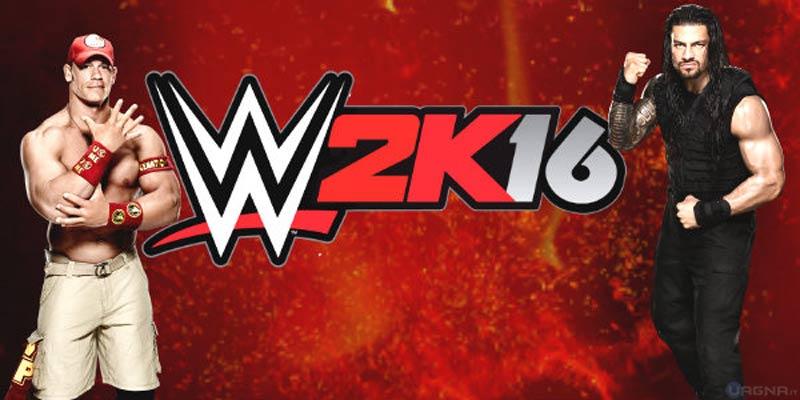 WWE 2K16 Vetrina
