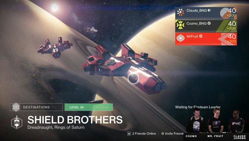 destiny - shield brothers