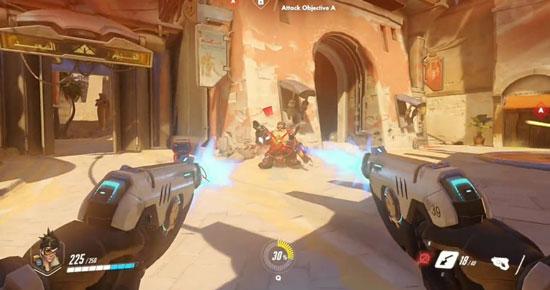 overwatch schermata di gioco