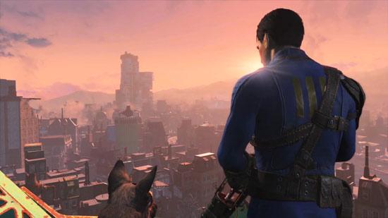 protagonista fallout 4 con cane