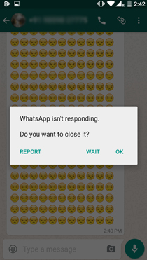 Whatsapp Crash 4000 Emoji Uagna.it