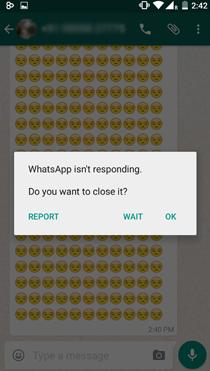 Whatsapp Crash 4000 Emoji Uagna.it