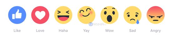 FacebookReactionsEmoticons